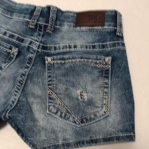 BKE Payton Denim Shorts Size 28
